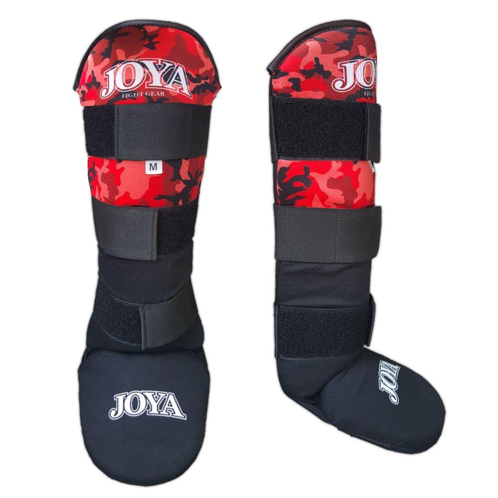 "Joya ""VELCRO CAMO RED"" Shinguard ( 082100-Red-Camo)"