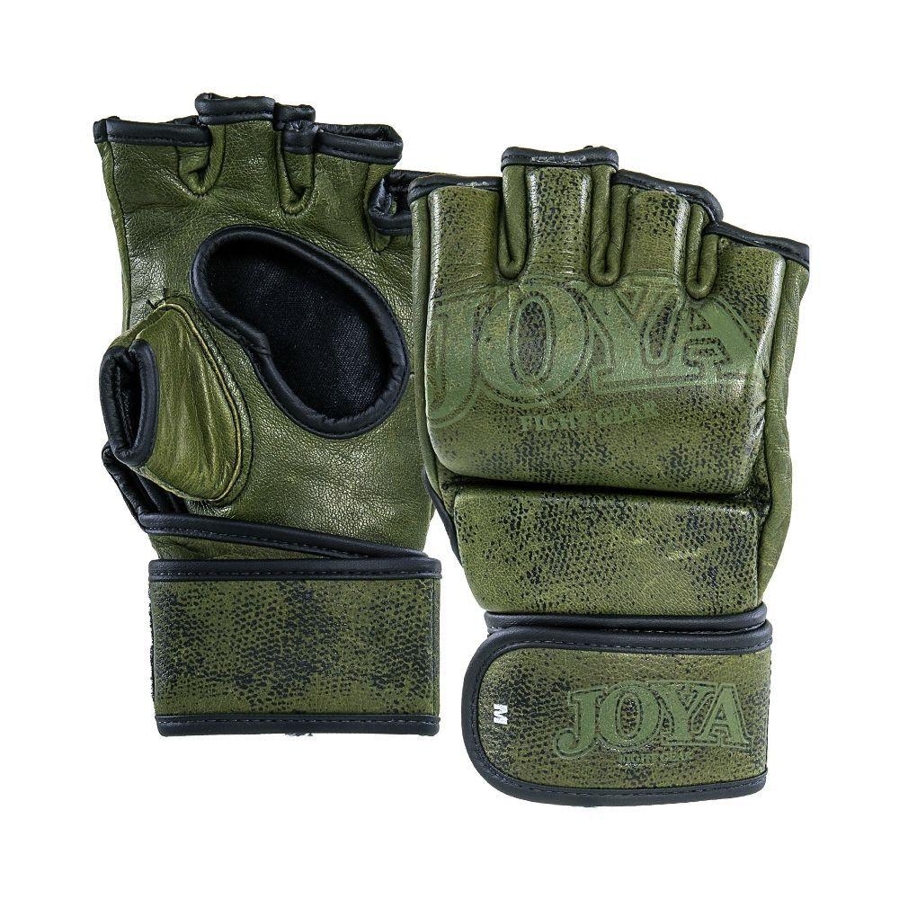 "Joya ""Fight Fast"" Leather MMA Grip - GREEN"
