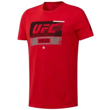 Reebok UFC FIGHT WEEK TEE RED/BLK