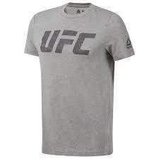 UFC FG LOGO TEE MGREYH