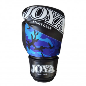 "Joya ""TOP ONE CAMO BLUE"" Kick-Boxing Glove (PU) (035-blue-camo)"