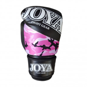 "Joya ""TOP ONE CAMO PINK"" Kick-Boxing Glove (PU) (035A-Pink-Camo)"