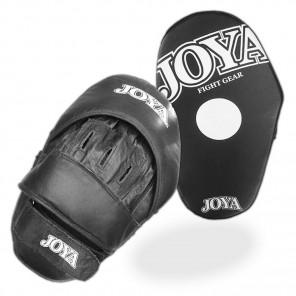 "Focus mitt ""DE LUXE"" Leather (PAIR) Black/extra thin"