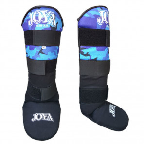 "Joya ""VELCRO CAMO BLUE"" Shinguard (082100A-Blue-Camo)"