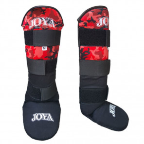 "Joya ""VELCRO CAMO RED"" Shinguard ( 082100A-Red-Camo)"