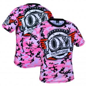 Joya T shirt  Camo Pink (3005-Pink-camo)