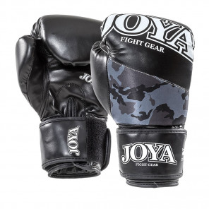 "Joya ""TOP ONE CAMO Black"" Kick-Boxing Glove (PU) (035-black-camo)"