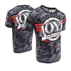 Joya T shirt  Black Camo (3005-Black-camo)