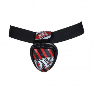 "Joya ""Steel"" Groin Protector Red/Black"