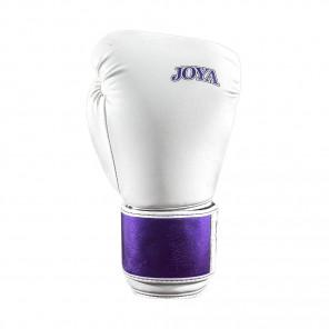 Joya kickboxing Glove Top One Pu White With Metallic Purple