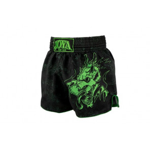 Joya Kickboxing Short - Dragon - Neon Green