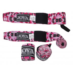 "Joya ""VELCRO CAMO PINK"" Boxing Wrap ( 048000-Pink-Camo)"