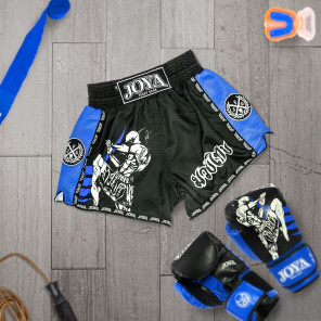 Joya Junior Kickboxing Short - Fighter - Blue