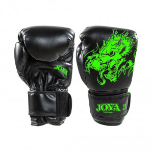Exclusive: Joya Kickboxing Glove - Neon Green Dragon - PU