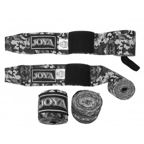 "Joya ""VELCRO CAMO Grey"" Boxing Wrap (048000-Grey-Camo)"
