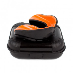 Makura Mouthguard Ignes Pro Black Granite / Molten Orange