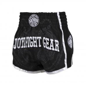 Joya Sak Yant Tiger Muay Thai Short - Black