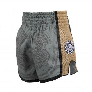 Joya Sak Yant Tiger Muay Thai Short - GREEN
