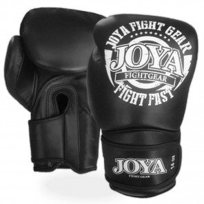 Joya Kickboxing Glove (Leather) FIGHT FAST Black  ( FF0091)