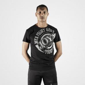 Joya Brand T-Shirt - Black+Silver