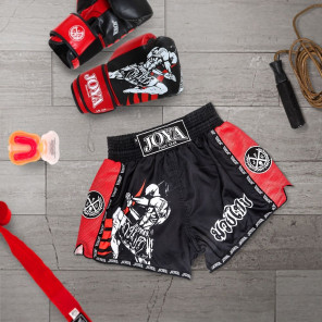 6941ee0c1476 Joya Junior Kickboxing Short - Fighter - Red ...