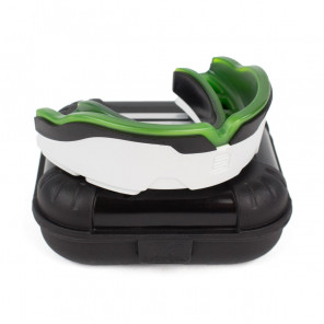 Makura Mouthguard Tephra Max White / Black / Green