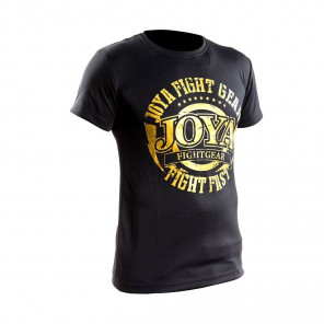 Joya Active Dry Shirt - Black/Gold