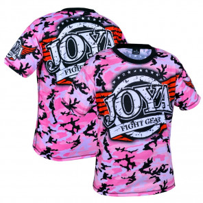Joya T-shirt Camo Roze
