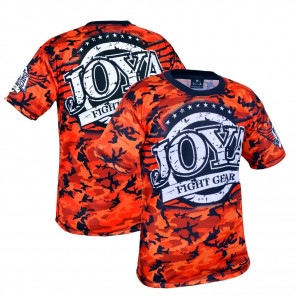 Joya T-shirt Camo Rood