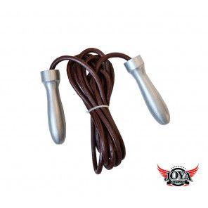 JOYA Jump Rope - Metal - Leather